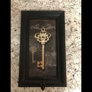 Rustic Key Picture with Hook